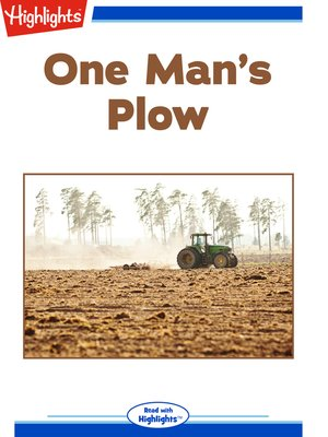 cover image of One Man's Plow