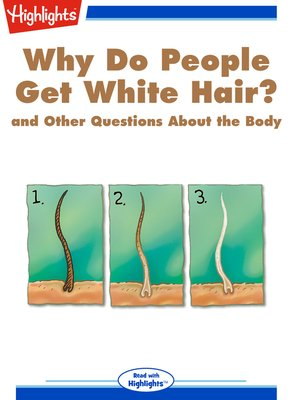 cover image of Why Do People Get White Hair? and Other Questions About the Body