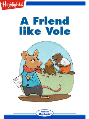 cover image of A Friend Like Vole
