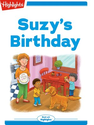 cover image of Suzy's Birthday