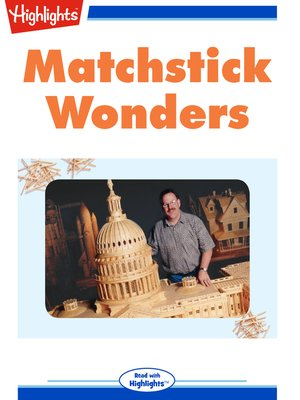 cover image of Matchstick Wonders