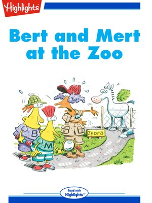 cover image of Bert and Mert at the Zoo