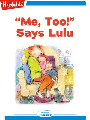 cover image of Me, Too! Says Lulu