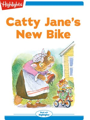 cover image of Catty Jane's New Bike