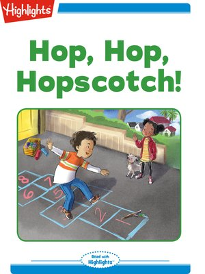 cover image of Hop Hop Hopscotch!