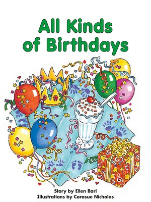 cover image of All Kinds of Birthdays