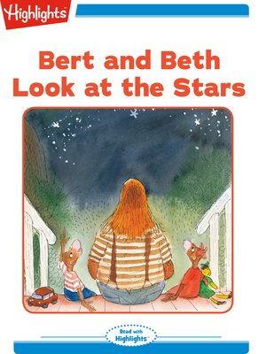 cover image of Bert and Beth Look at the Stars