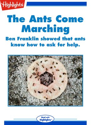 cover image of The Ants Come Marching