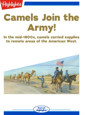 cover image of Camels Join the Army!