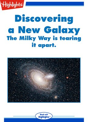 cover image of Discovering a New Galaxy