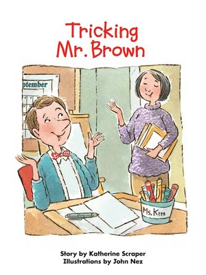cover image of Tricking Mr. Brown