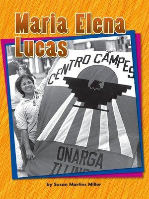 cover image of Maria Elena Lucas