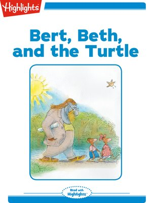 cover image of Bert Beth and the Turtle