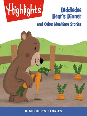 cover image of Biddledee Bear's Dinner and Other Mealtime Stories