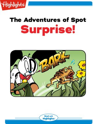 cover image of The Adventures of Spot: Surprise