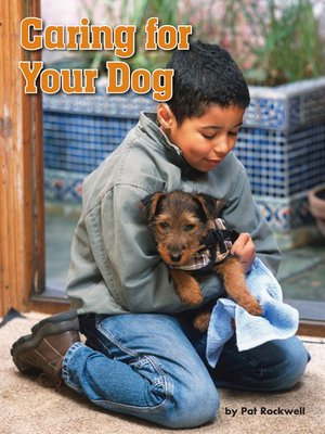 cover image of Caring for Your Dog