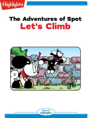 cover image of The Adventures of Spot: Let's Climb