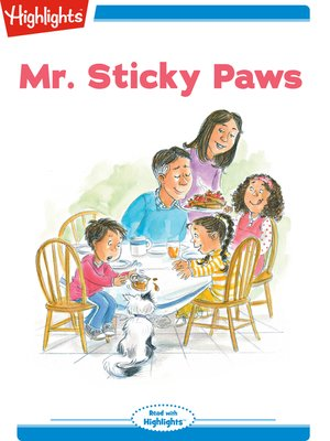 cover image of Mr. Sticky Paws