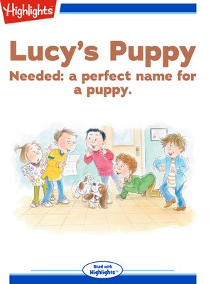cover image of Lucy's Puppy