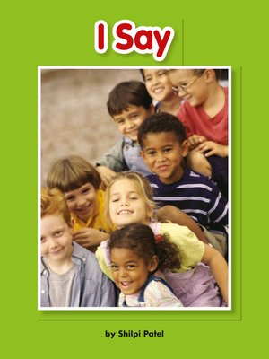 cover image of I Say