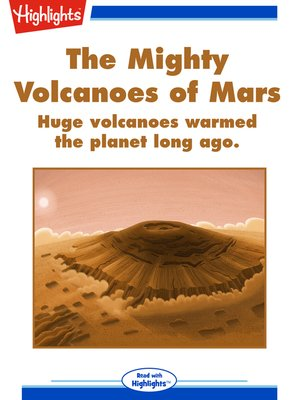 cover image of The Mighty Volcanoes of Mars