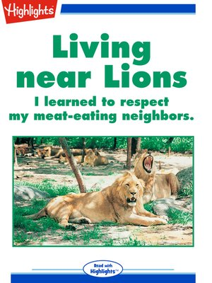 cover image of Living near Lions
