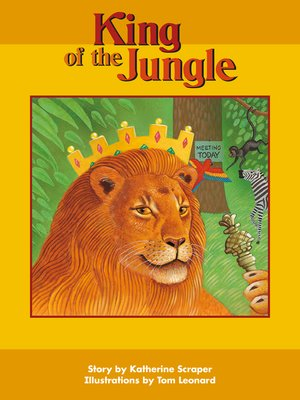 cover image of King of the Jungle