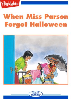 cover image of When Miss Parson Forgot Halloween