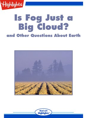 cover image of Is Fog Just a Big Cloud? and Other Questions About Earth