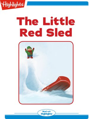 cover image of The Little Red Sled