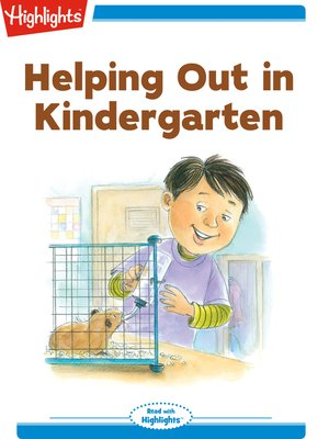cover image of Helping Out in Kindergarten