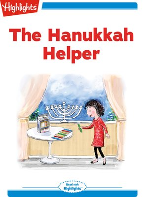 cover image of The Hanukkah Helper