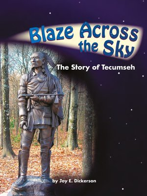 cover image of Blaze Across the Sky: The Story of Tecumseh