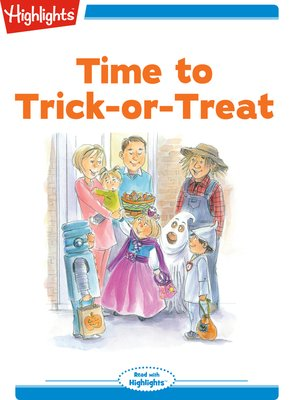 cover image of Time to Trick or Treat