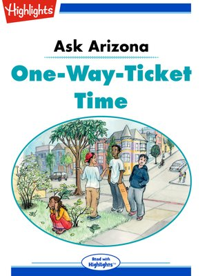 cover image of Ask Arizona: One-Way-Ticket Time