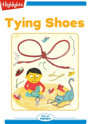 cover image of Tying Shoes