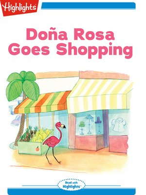 cover image of Dona Rosa Goes Shopping