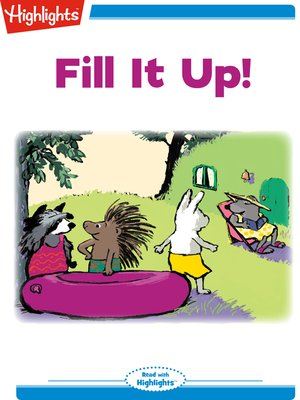 cover image of Fill It Up!