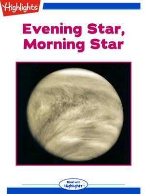 cover image of Evening Star, Morning Star