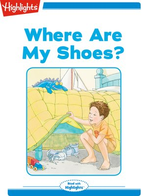 cover image of Where Are My Shoes?