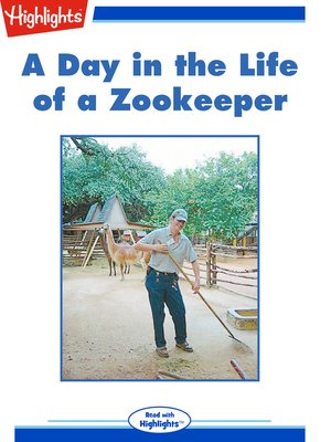 cover image of A Day in the Life of a Zookeeper