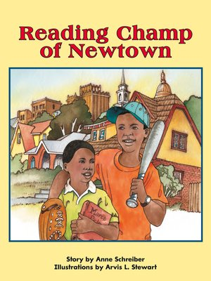 cover image of Reading Champ of Newtown