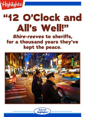cover image of 12 O'Clock and All's Well