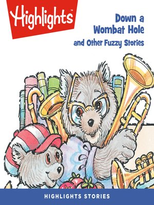 cover image of Down a Wombat Hole and Other Fuzzy Stories
