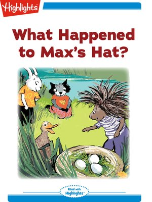 cover image of What Happened to Max's Hat?