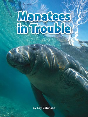 cover image of Manatees in Trouble