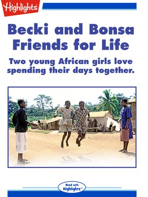 cover image of Becki and Bonsa: Friends for Life