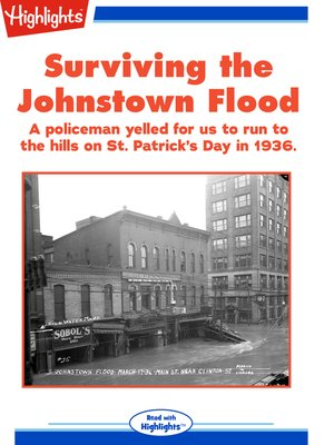 cover image of Surviving the Johnstown Flood