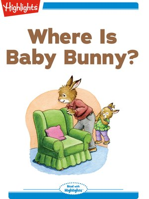 cover image of Where is Baby Bunny?