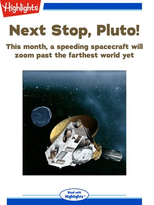 cover image of Next Stop, Pluto!